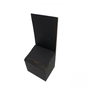 Cardboard Lead Box in Black - Sold in packs of 6