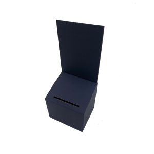 Cardboard Lead Box in Blue - Sold in packs of 6